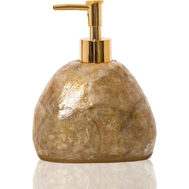 İrya Sedef Sıvı Sabunluk Altın